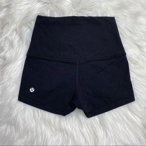 Lululemon Wunder Under Black Shorts